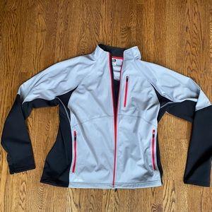 North face men's XL running jacket. Worn once